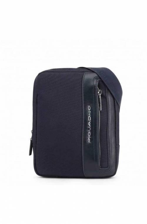 PIQUADRO Bag Link Male Pocketbook Blue - CA3084LK2-BLU