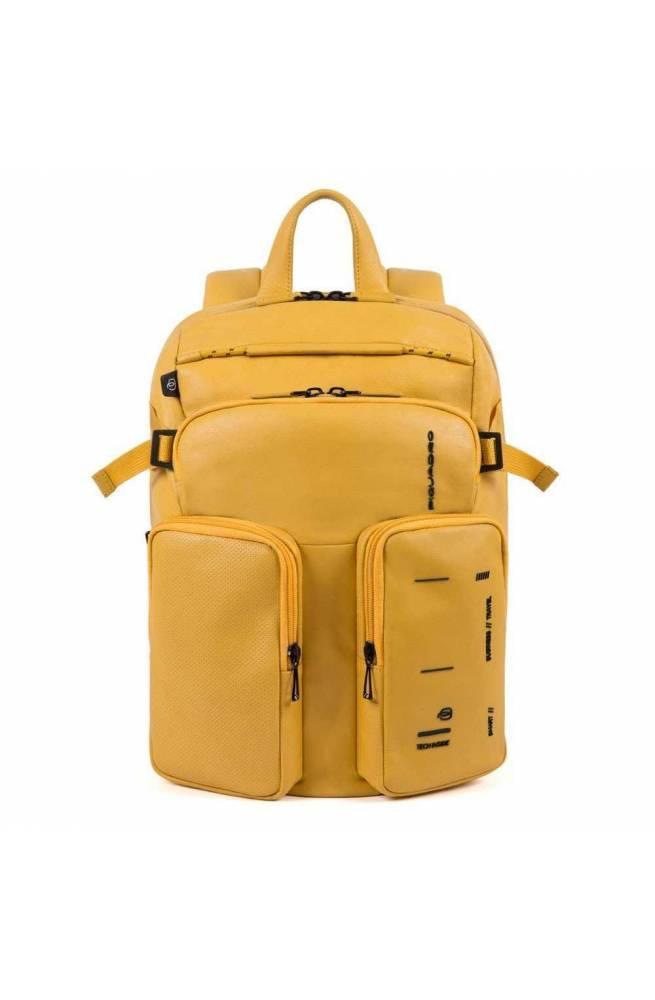 PIQUADRO Mochila Kyoto Unisex amarillo - CA4922S106-G