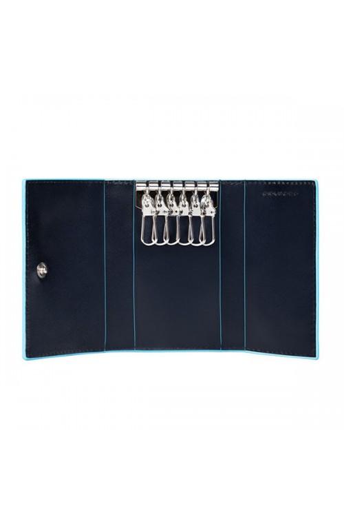 Portachiavi PIQUADRO Blue Square Unisex - PC1396B2-BLU2