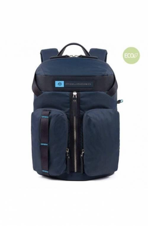 PIQUADRO Backpack PQ-Bios regenerated Blue - CA5038BIO-BLU