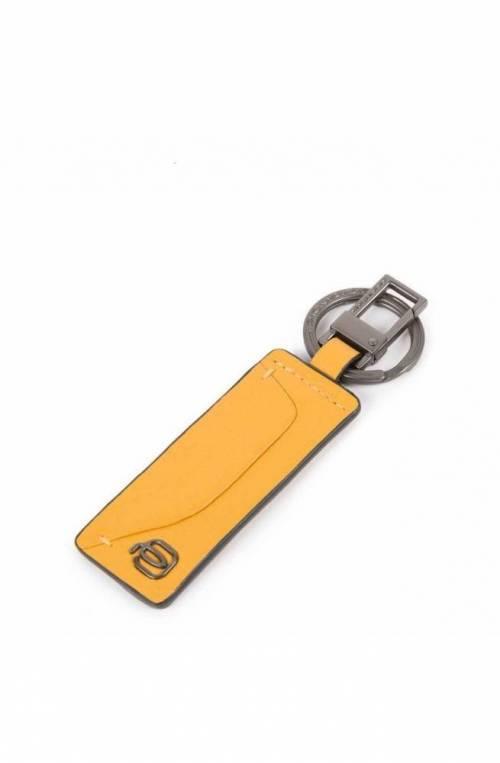 PIQUADRO Keyrings Akron yellow Leather Male - PC5120AO-G