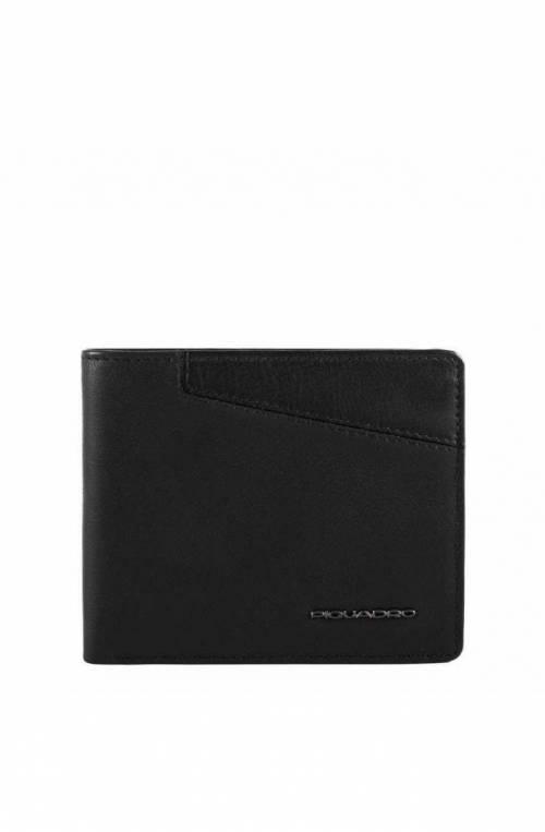 PIQUADRO Wallet Hakone Male Black - PU257S104R-N