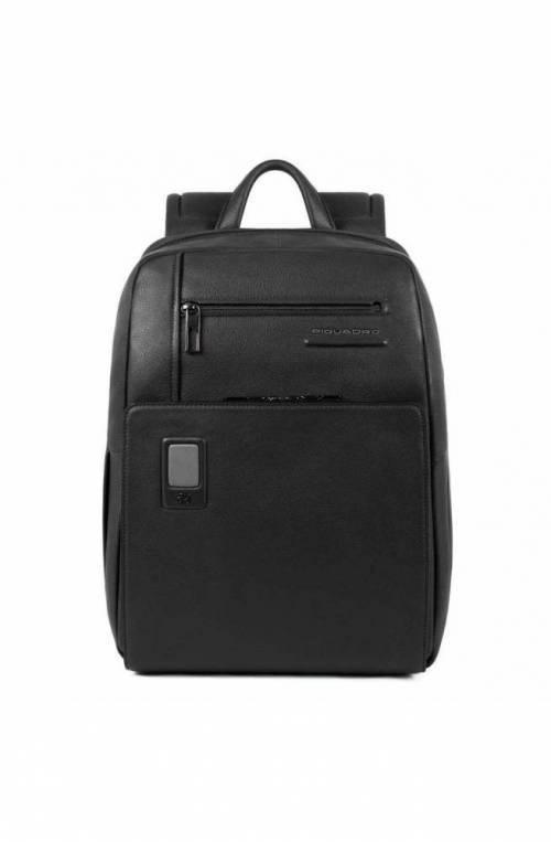 PIQUADRO Backpack Akron Male Black customizable - CA3214AO-N