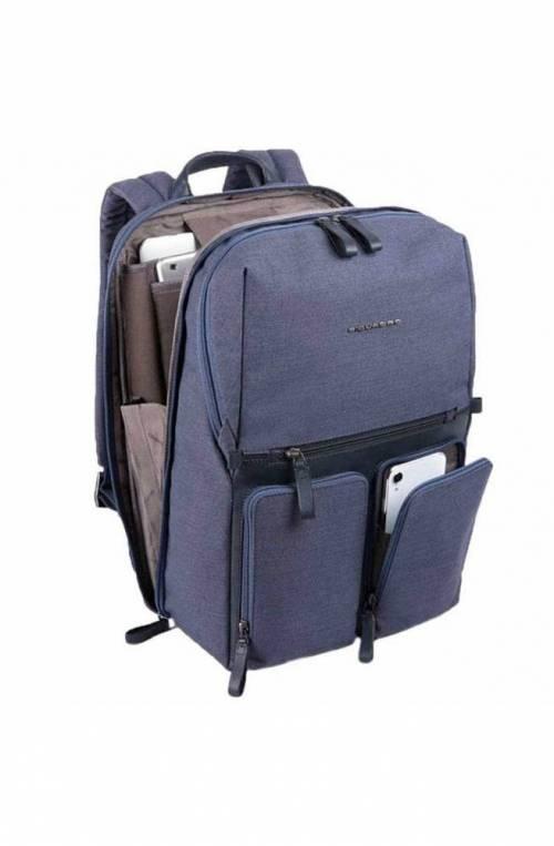 PIQUADRO Backpack Male blue CA4541W98-BLU