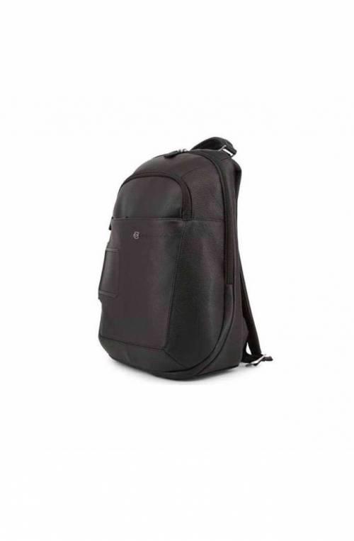 PIQUADRO Backpack Vibe Male Leather Black - OUTCA3772VI-N
