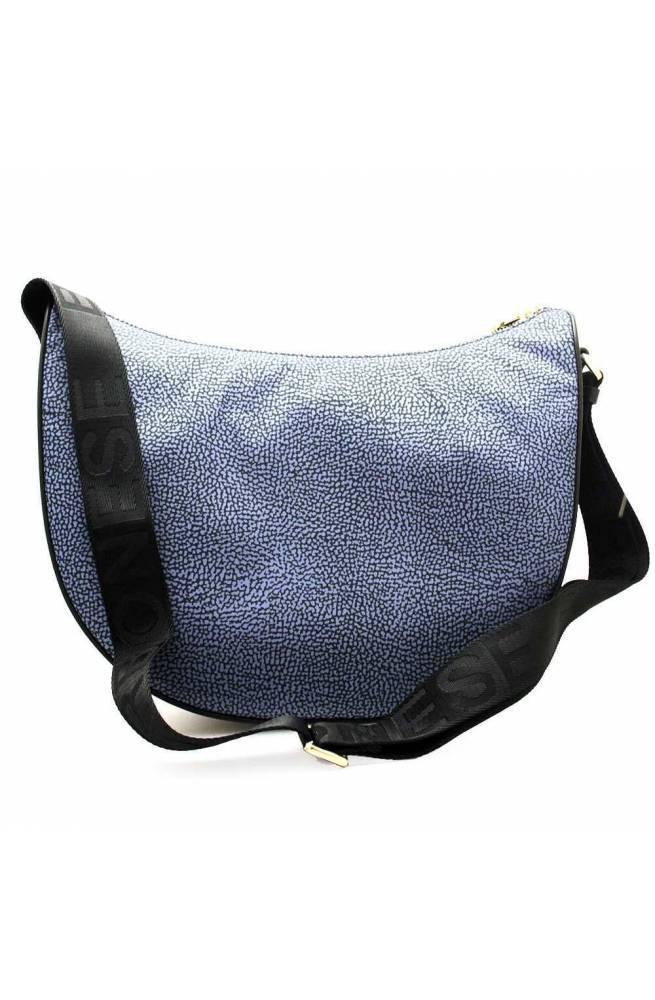 BORBONESE Bolsa Mujer Azul-Negro - 934411-I15-880
