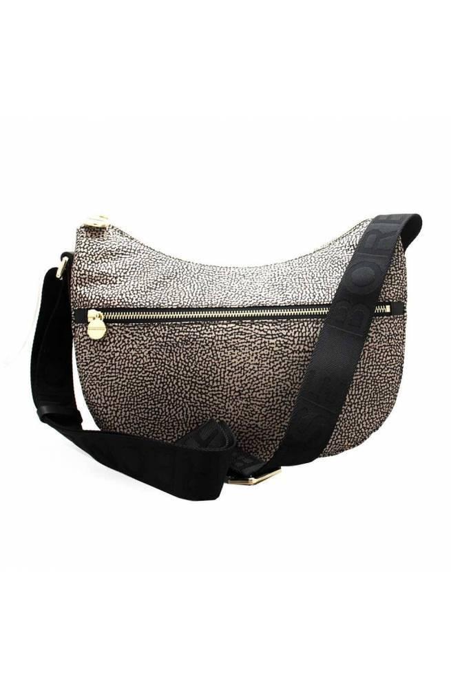 BORBONESE Bag Female Natural, Black - 934107-I15-X11