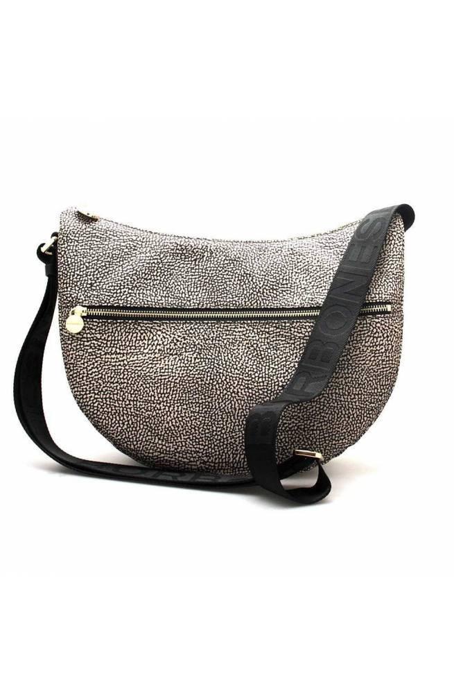 BORBONESE Bag Female Natural-Black - 934108-I15-X11
