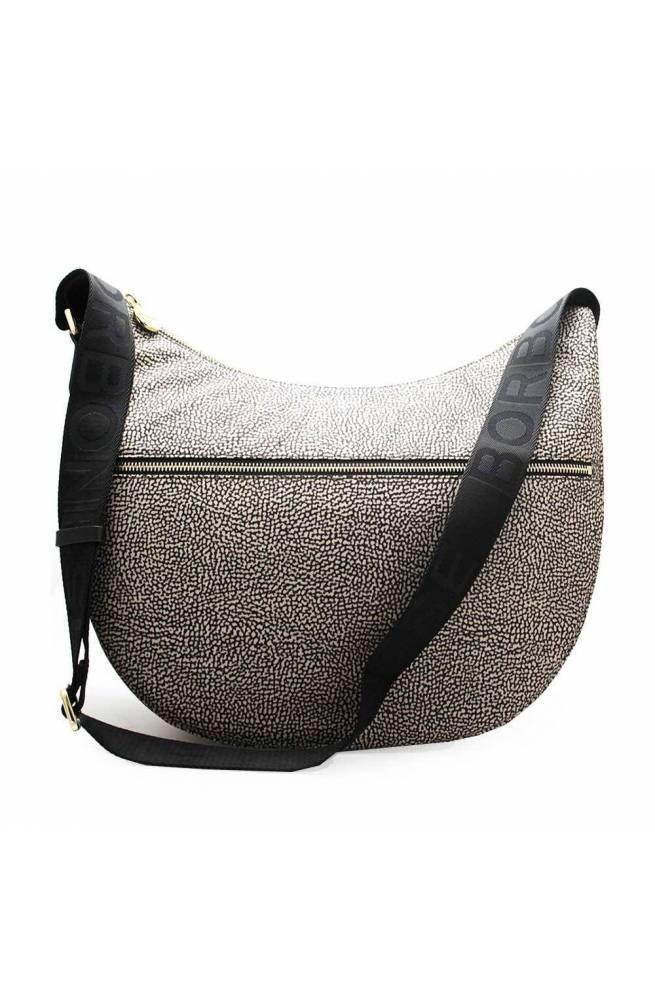 BORBONESE Bag Female Natural-Black - 934109-I15-X11