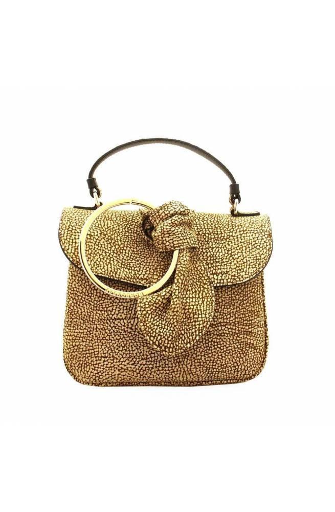 BORBONESE Bag Female Leather Op.Classic Black - 913975-662-X11