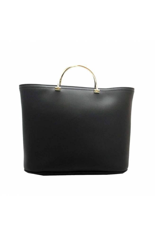 BORBONESE Bolsa MINERVA Mujer Cuero Negro - 924415-I42-100