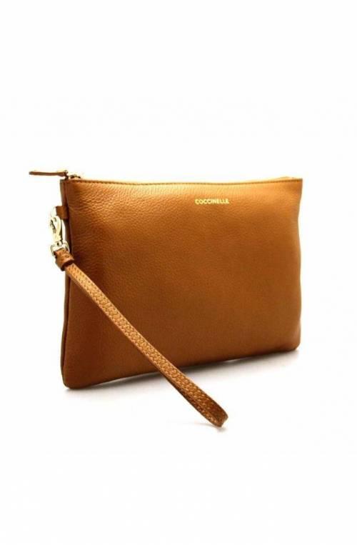 COCCINELLE Tasche ENVELOPES Damen Leder Karamell - E5GV119A107W03