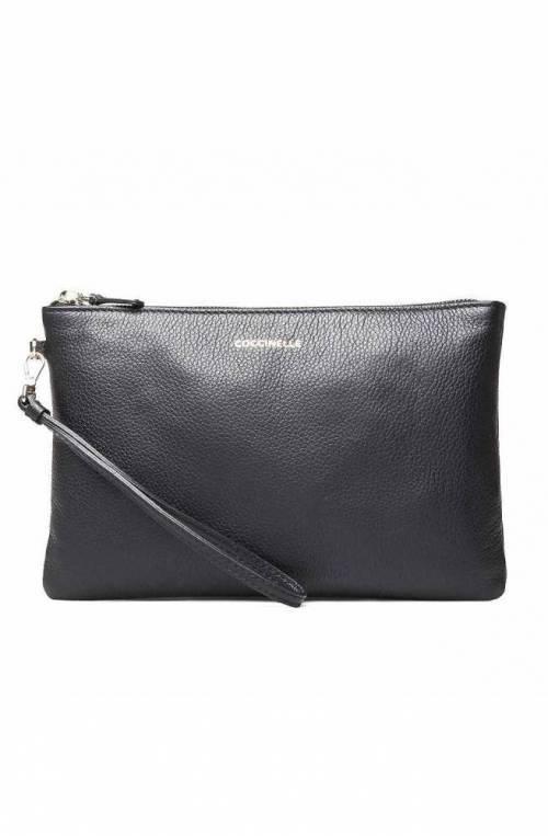 COCCINELLE Bolsa ENVELOPES Mujer Cuero Negro - E5GV119A107001