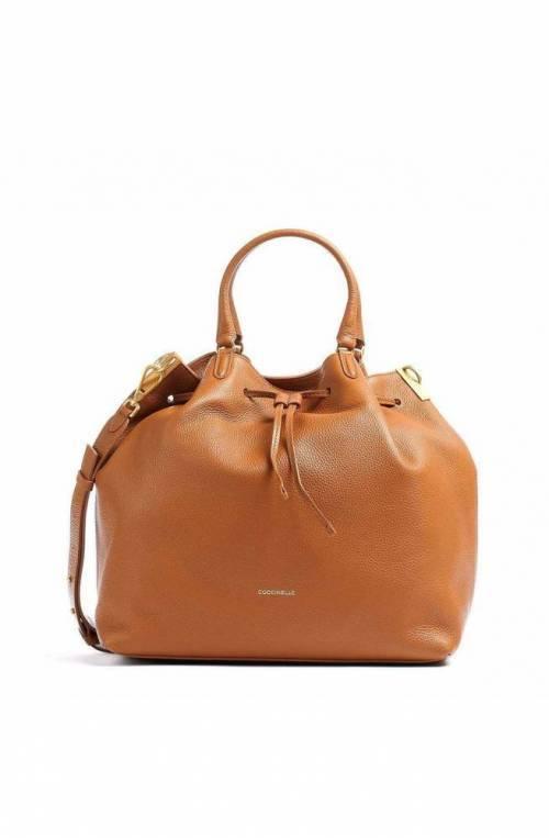 COCCINELLE Bag GABRIELLE Female Leather Caramel - E1GQ0180101W03