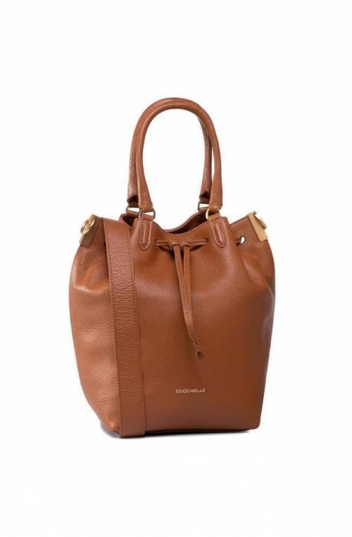 COCCINELLE Bolsa GABRIELLE Mujer Cuero Caramelo - E1GQ0180201W03