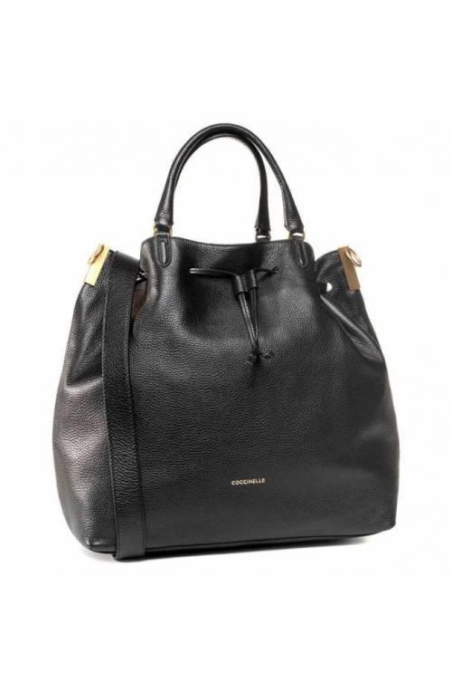 COCCINELLE Bag GABRIELLE Female Leather Black - E1GQ0180101001
