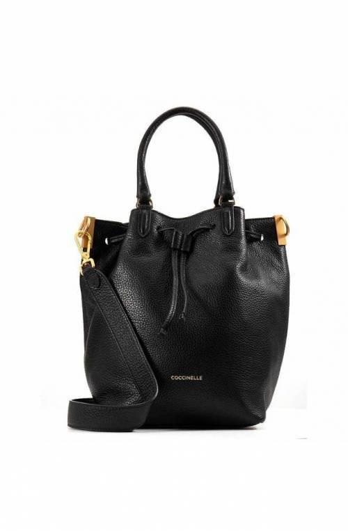 COCCINELLE Bag GABRIELLE Female Leather Black - E1GQ0180201001
