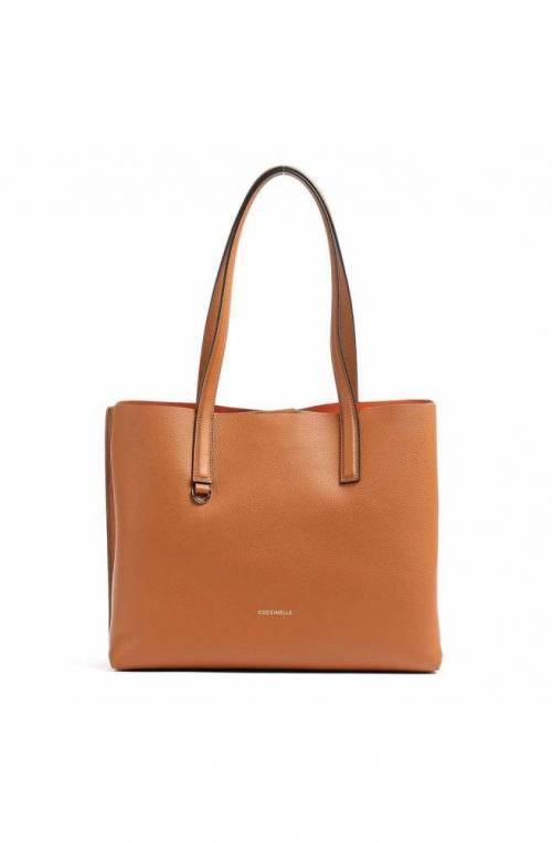 COCCINELLE Bag MATINEE Female Leather Caramel - E1GJA110101374