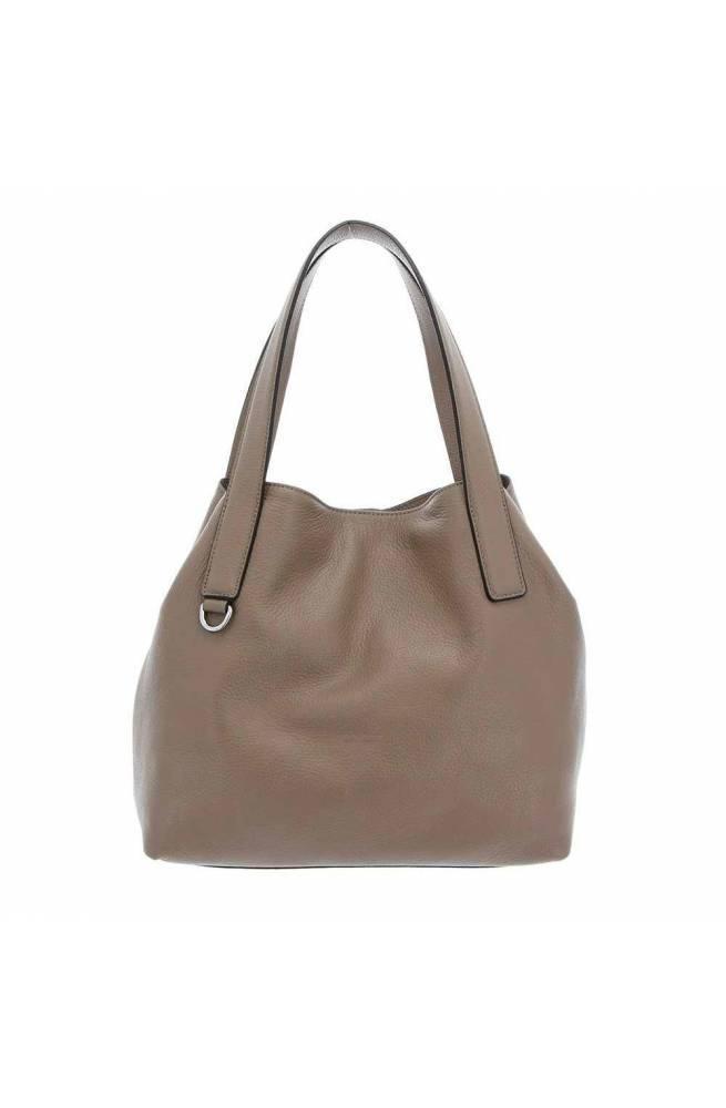 COCCINELLE Bag MILA Female Leather Taupe - E1GE5110101N75
