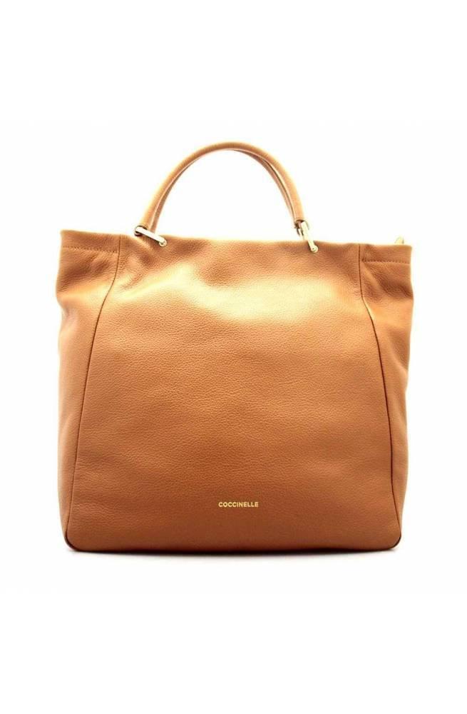 COCCINELLE Bolsa RENDEZ-VOUS Mujer Cuero Caramelo - E1GT0180101W03