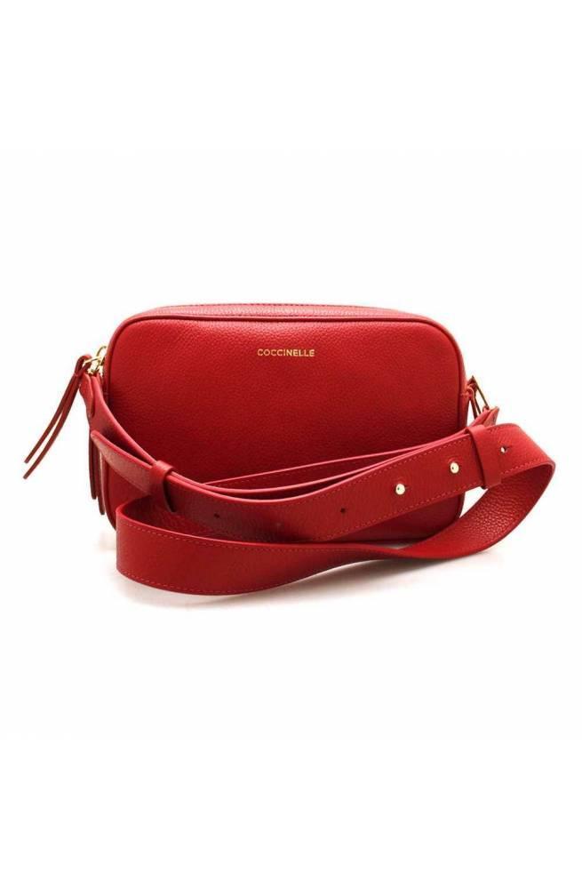 COCCINELLE Bolsa RENDEZ-VOUS Mujer Cuero rojo - E1GT0150101R62