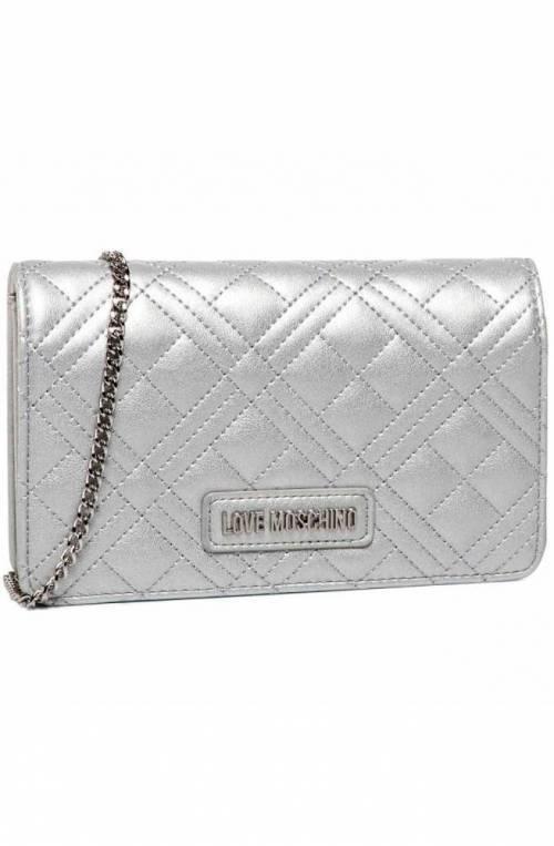 LOVE MOSCHINO Bag Female Silver - JC4093PP1ALI0902