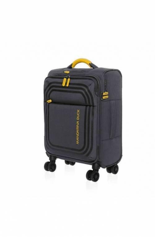 Trolley Mandarina Duck Bilbao cabin Acciaio TSA lock - P10VAV02465