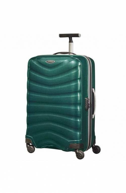 SAMSONITE Trolley Firelite Curv verde - U72-14502