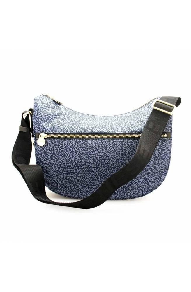 BORBONESE Bag Female Blue-Black - 934107-I15-880