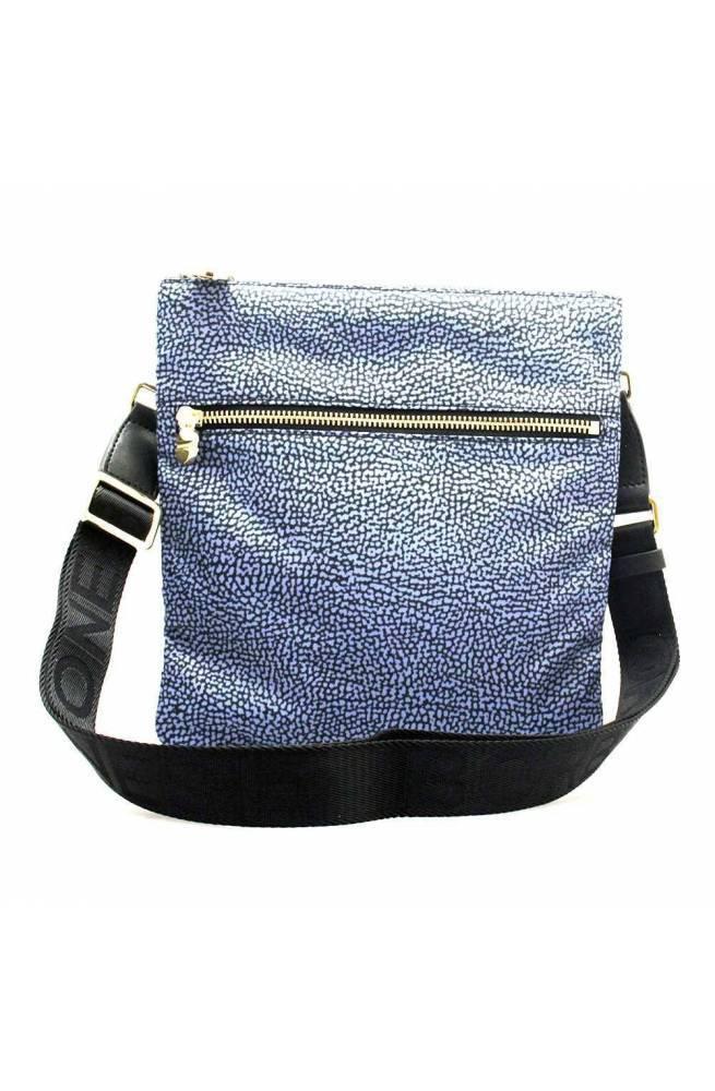 BORBONESE Bag Female Blue-Black - 934112-I15-880
