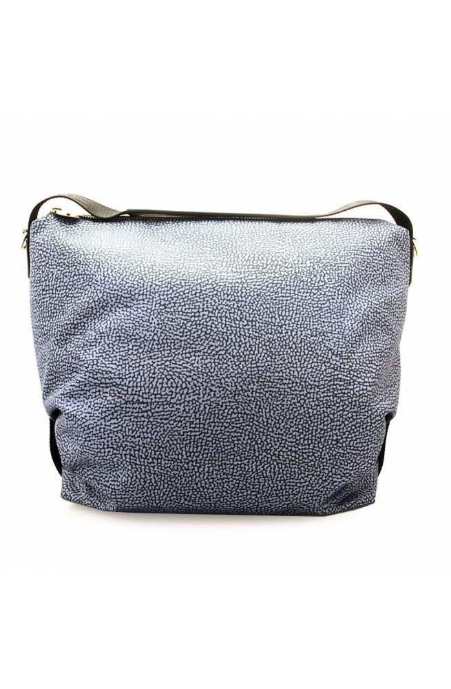 BORBONESE Bag Female Blue-Black - 934460-I15-880
