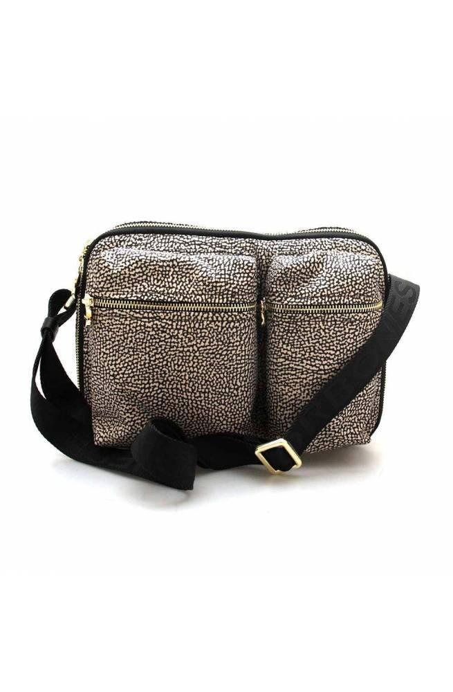 BORBONESE Bag Female Natural, Black - 923981-X99-X11