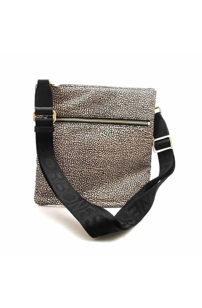 BORBONESE Tasche Damen Natuerlich, Schwarz - 934112-I15-X11