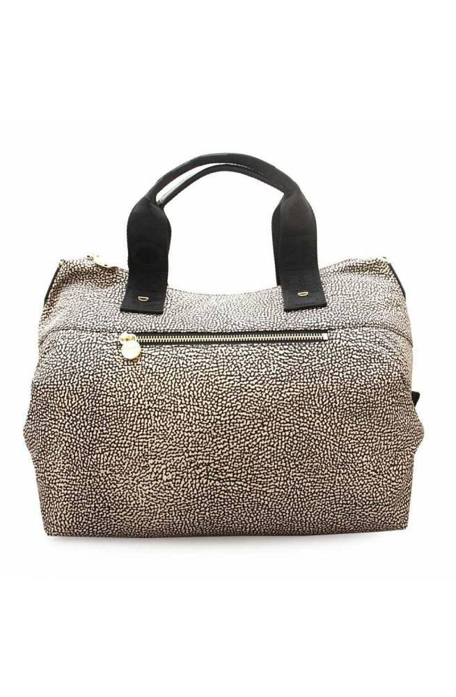 BORBONESE Bag Female Natural, Black - 934118-I15-X11