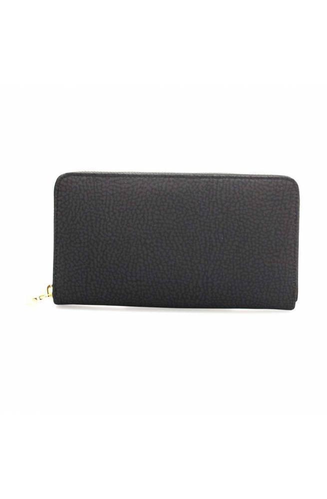 BORBONESE Wallet Female Black - 930111-X99-100