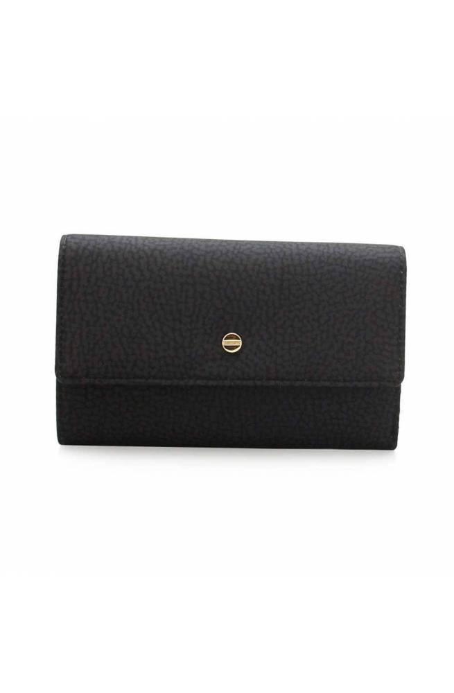BORBONESE Wallet Female Black - 930115-X99-100