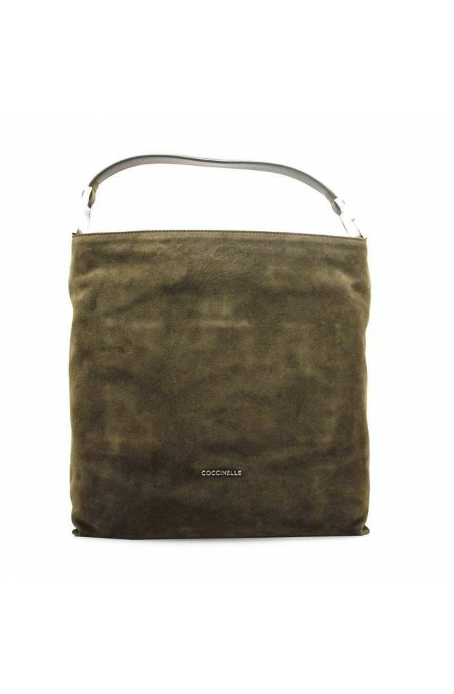 COCCINELLE Bolsa KEYLA SUEDE Mujer verde militar - E1GI1130201G20