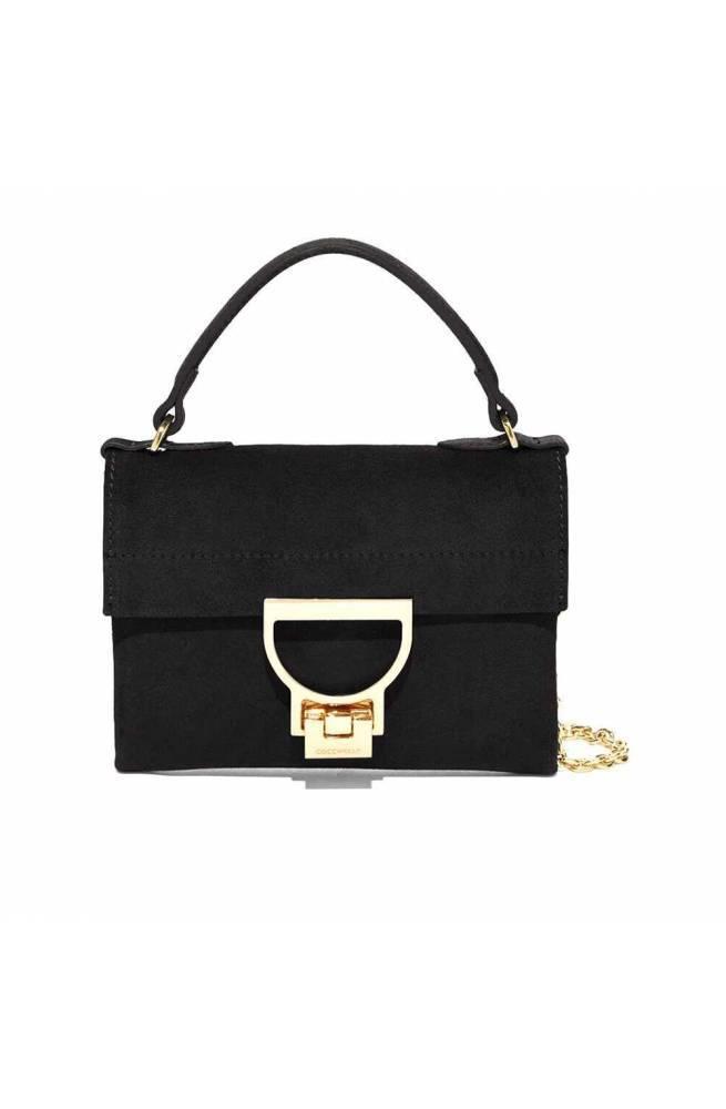 COCCINELLE Bolsa MIGNON SUEDE Mujer Negro - E1G31550101001