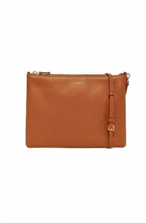 COCCINELLE Bolsa MINI BAG Mujer Cuero Caramelo - E5GV355F407W03
