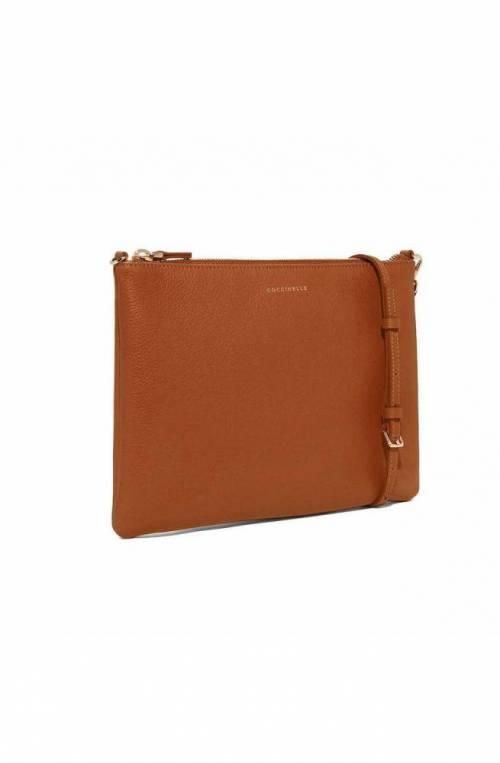 COCCINELLE Bag MINI BAG Female Leather Caramel- E5GV355F407W03