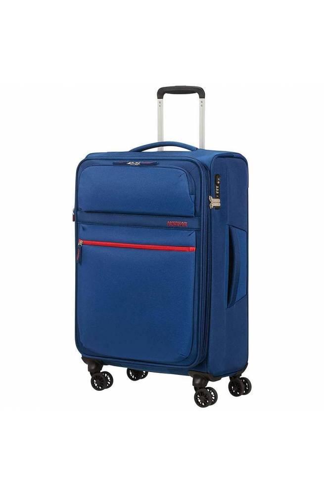 Trolley American Tourister Matchup NEON BLUE espandibile - 77G-11004