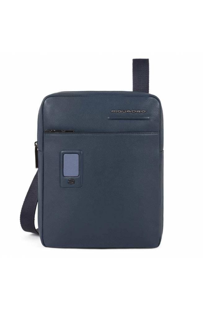 Borsa PIQUADRO Akron Uomo Blu personalizzabile - CA1816AO-BLU