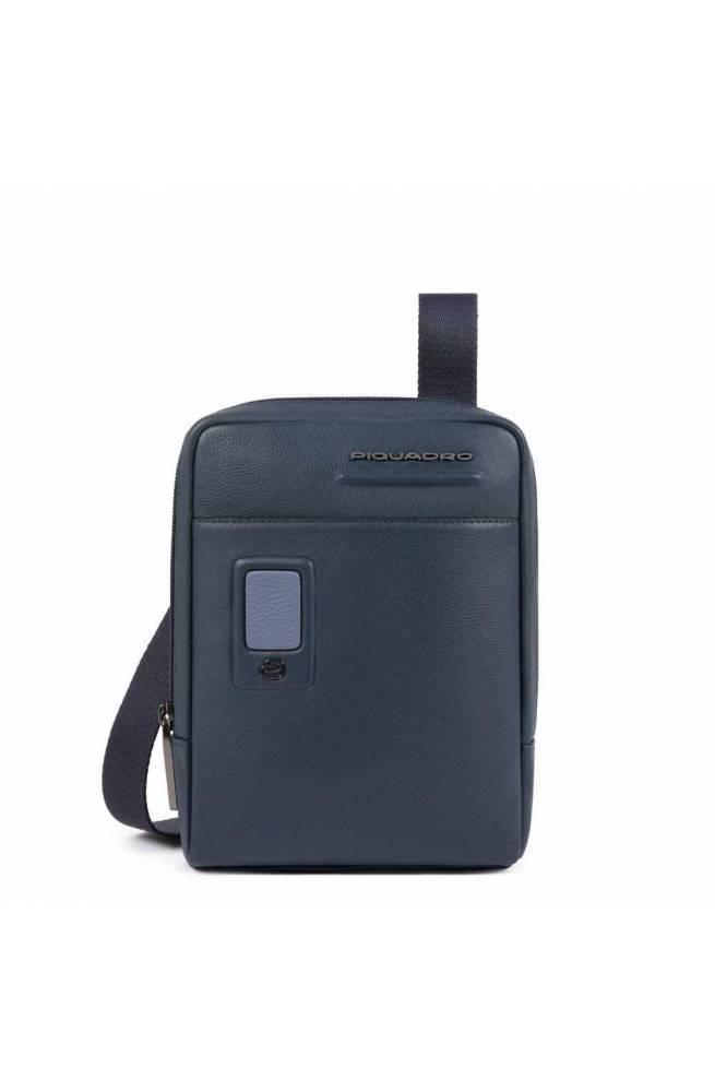 Borsa PIQUADRO Akron Uomo Pelle Blu personalizzabile - CA3084AO-BLU