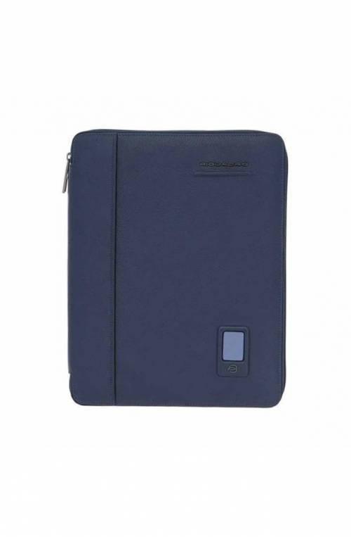 Slim notepad holder Piquadro Akron A4 format PB2830AO-BLU