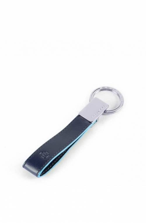 PIQUADRO Keyrings Blue Square Blue Unisex - PC4855B2-BLU2