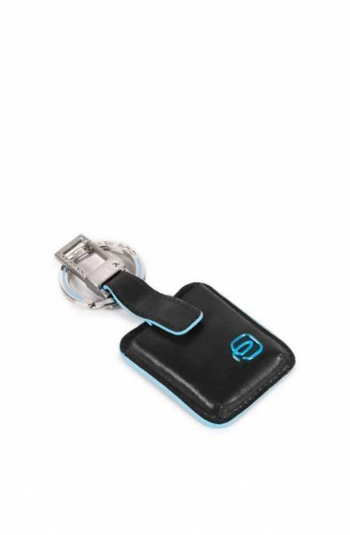 PIQUADRO Keyrings Blue Square CONNEQU Black Unisex - AC3954B2-N