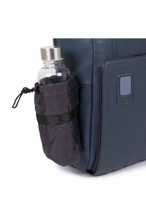 PIQUADRO Backpack Akron Male Blue customizable - CA3214AO-BLU