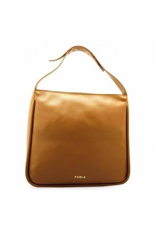 FURLA Bag ESTER Female Leather Cognac - WB00067-VOD000-03B00
