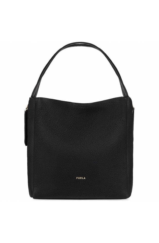 FURLA Bolsa GRACE Mujer Cuero Negro + talco - BARVFGC-NVD000-P1900