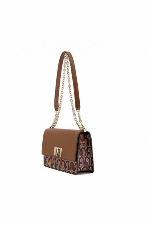 FURLA Bag 1927 Female Leather Cognac+coffee - BAFIACO-A0067-0090S